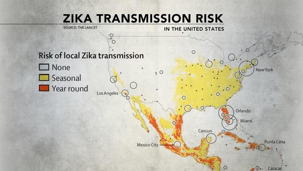 Map US Cities Where Zika Might Hit This Summer So Far Zika Is - Us zika map