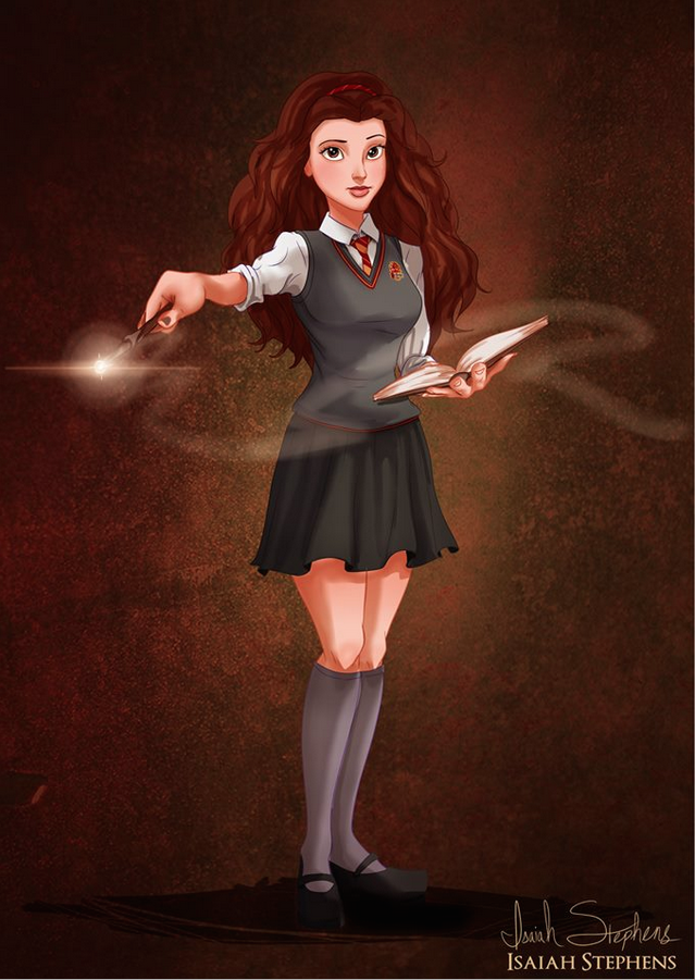 A Thank You Letter To Hermione and Princess Belle