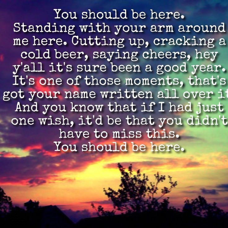 Losing someone songs