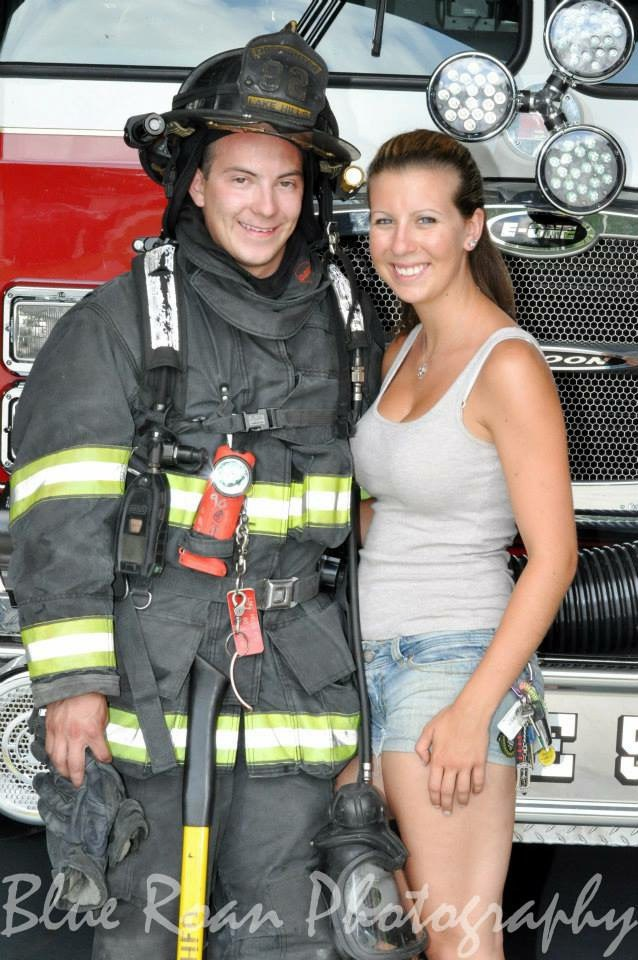 Dating a female firefighter