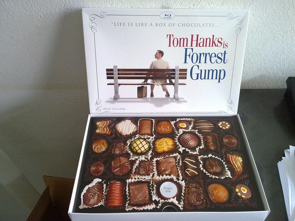 life is like a chocolate box