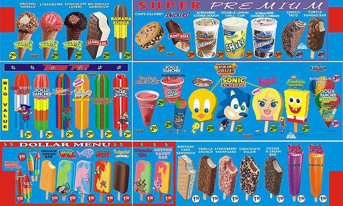 an ice cream for every stage of summer