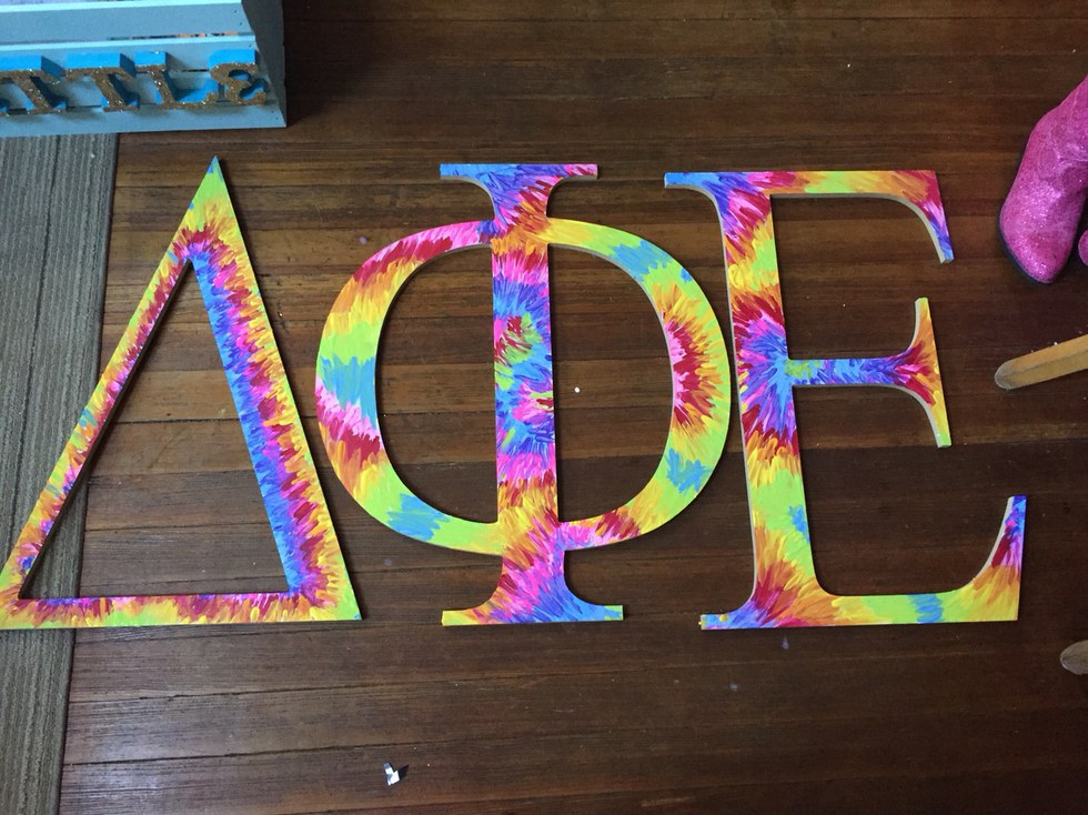 wooden greek letters 15 sorority crafts that you must do this summer 17567