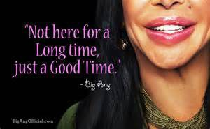 The Thing I Learned From Big Ang