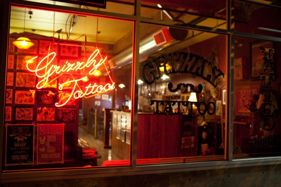 Portland land of good ink for Tattoo shops in portland oregon