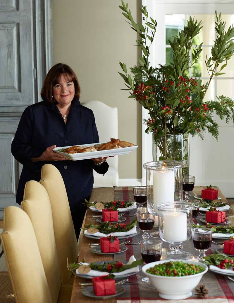 She understands the importance of a beautiful table setting. & Why Ina Garten Is The Real Queen