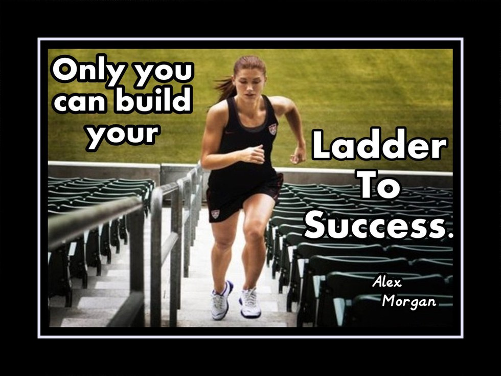 11 alex morgan quotes for all athletes no one is going to do the work for you the only way you are going to be successful in anything in life is if you put the work in yourself and voltagebd
