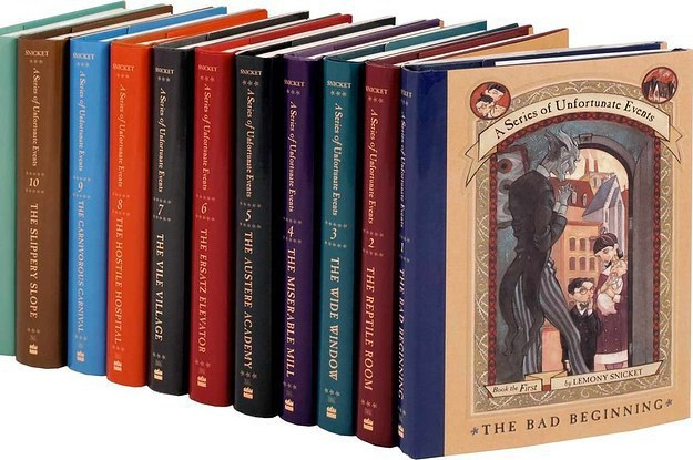 11 Book Series 90s Kids Remember From Their Childhood