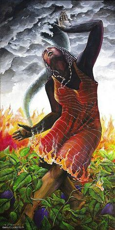 Oshun love is the goddess of sex hands down she is a master in her field of pleasure - 5 9