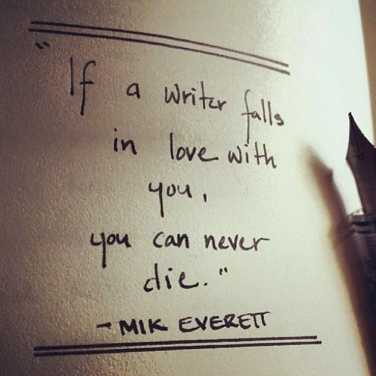 love a writer