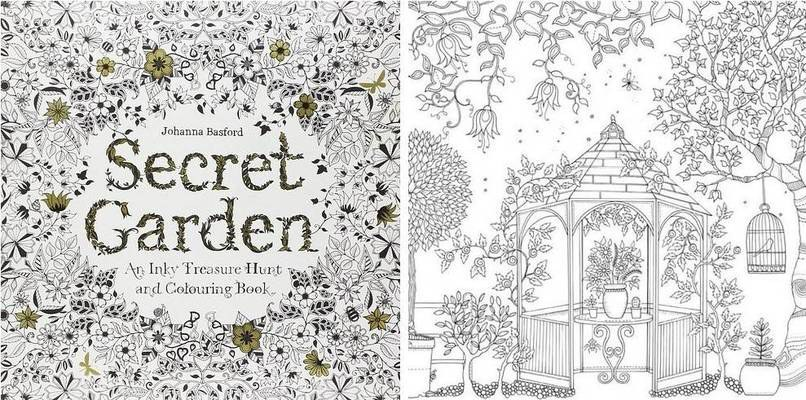 The Secret Garden Is One Part Of Category Coloring Books That Are Considered Artistic