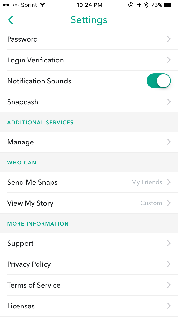 Snapchat friend emojis secret once in the manage tab look for the friend emojis selection biocorpaavc Gallery
