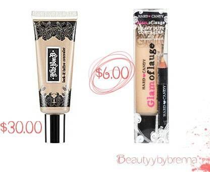 10 make up dupes that won 39 t break the bank for Kat von d cover up tattoo