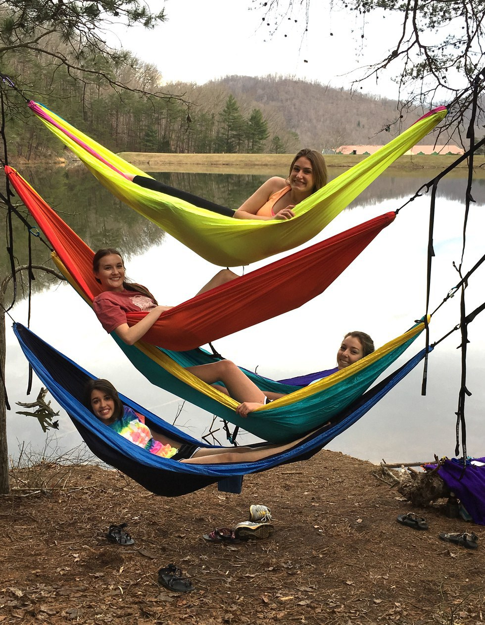 eno hammocks are made by eaglesnest outfitters and run from about  60 to  100 depending on the size and how fancy you are wanting to get  why you need an eno hammock  rh   theodysseyonline
