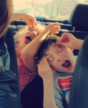 how to make a kid fall asleep babysitting