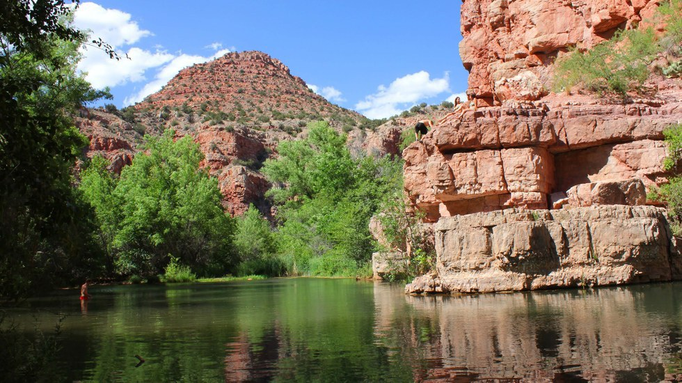 The Best Cliff Jumping Spots In Northern Arizona