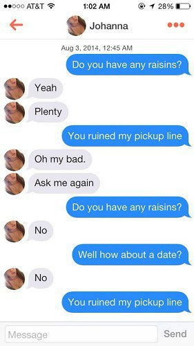 Best conversation starters for tinder