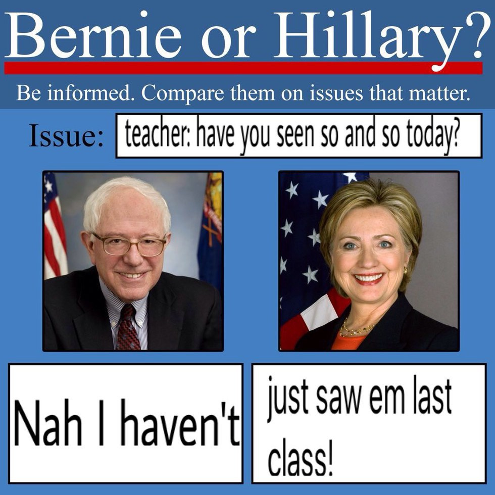 980x why the bernie vs hillary memes will affect the outcome of the