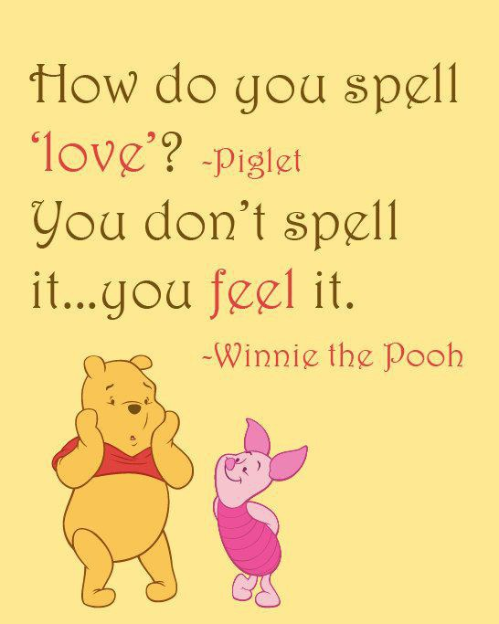 "Pooh Love Quotes Extraordinary Winnie The Pooh"" Quotes To Live By"