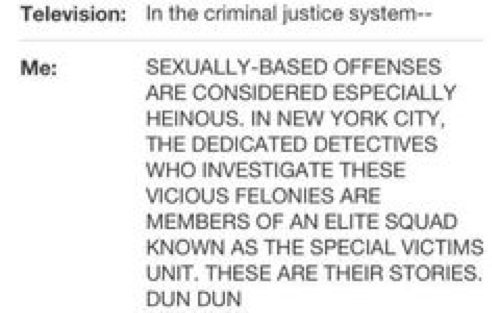 In the criminal justice system sexually based offenses are considered especially