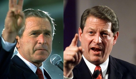 the presidential election in 2000 as the most controversial political event