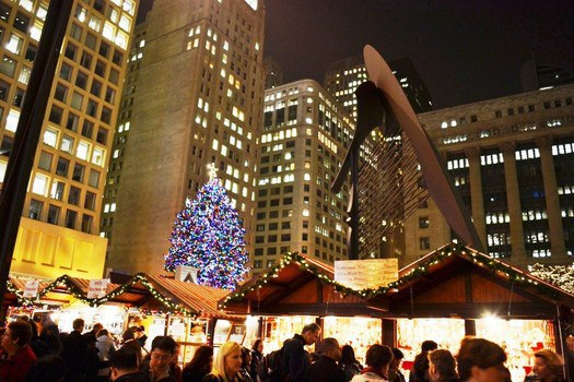 started in 1996 the chicago christmas market is the largest german style christmas market outside of germany modeled after the markets in nuremberg
