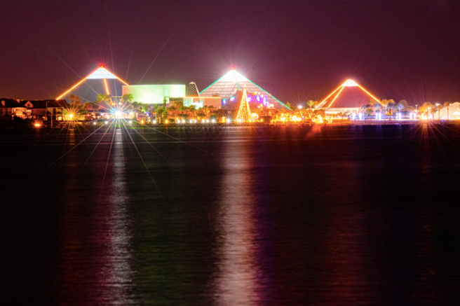 Just A Short Drive From Central Houston, Nearby Galveston Island Has The  Festival Of Lights At Moody Gardens. This One Mile Trail Features Over One  Million ...