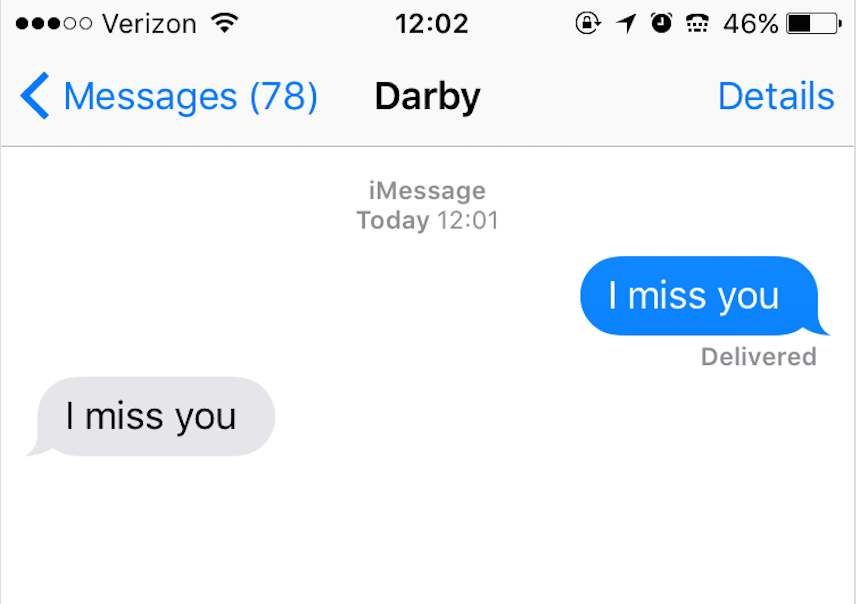 9 Texts We All Send Our Best Friends From Home