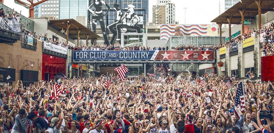 14 things you miss about kansas city when you move out of town power and light district its the largest outdoor bar in america and it has one of best atmospheres youll ever encounter aloadofball Image collections