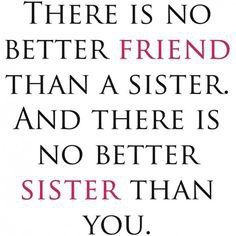 A Letter To My Little Sister