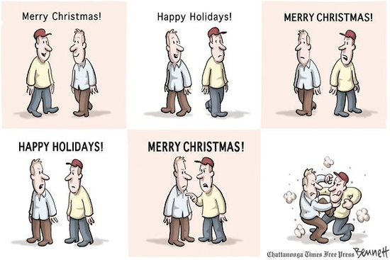 happy holidays vs merry christmas