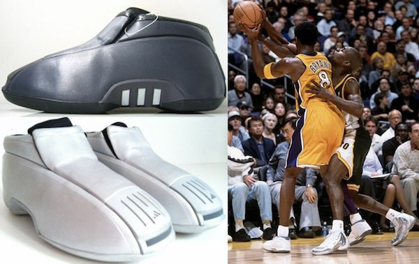 By the end of the season, Kobe himself was dissatisfied with the weight and  feel of the shoe and opted to wear his previous model during the 2002  Finals.