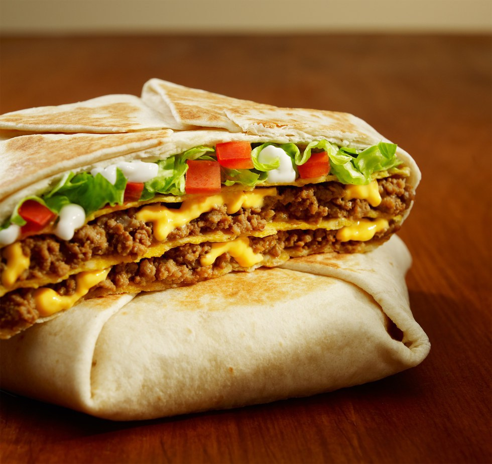 What Else Needs To Be Said About This Glorious Hexagon Of Heaven The Crunchwrap Supreme Provides Best All Around Qualities Taco Bell Beefy Cheesy