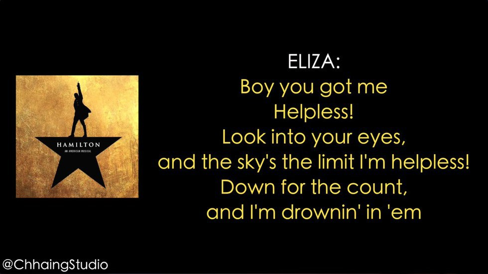 Lyric fall into me lyrics : 12 Reasons Why Everyone Should Appreciate 'Hamilton: The Musical'