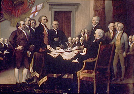 declaration of independence against king george iii