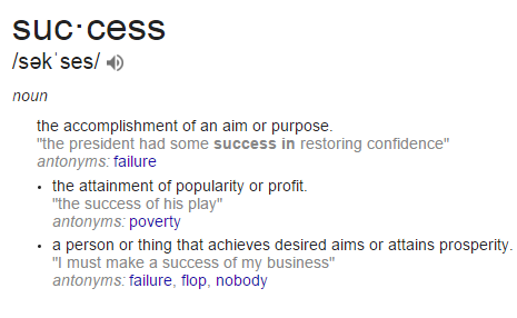 The World Is Wrong About What It Means To Be Successful