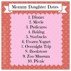 Make A Date With Your Mom