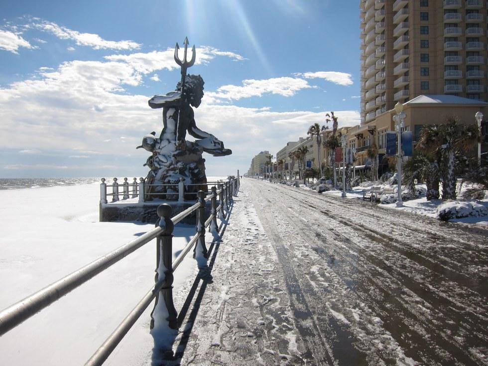 Virginia Beach Snow