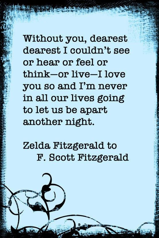 Words Of The Fitzgeralds That Will Make Your Heart Cry