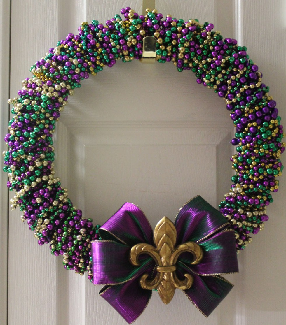 12 Creative Ways To Reuse And Recycle Your Mardi Gras Beads
