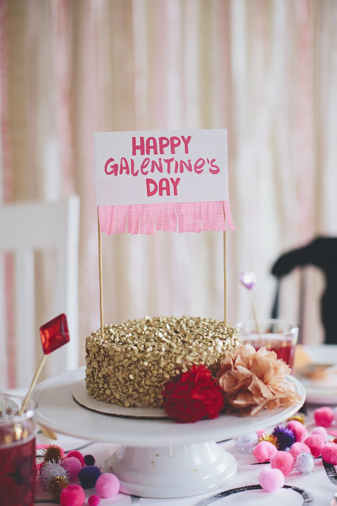 how to throw an awesome galentine 39 s day party. Black Bedroom Furniture Sets. Home Design Ideas