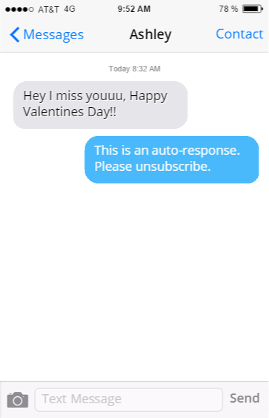 the text from the ex is the worst its so easy to bounce right back into a relationship when you and your ex are both single on the same boat - Valentines Day Texts