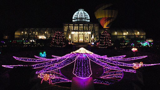 Christmas in rva for Lewis ginter botanical gardens christmas