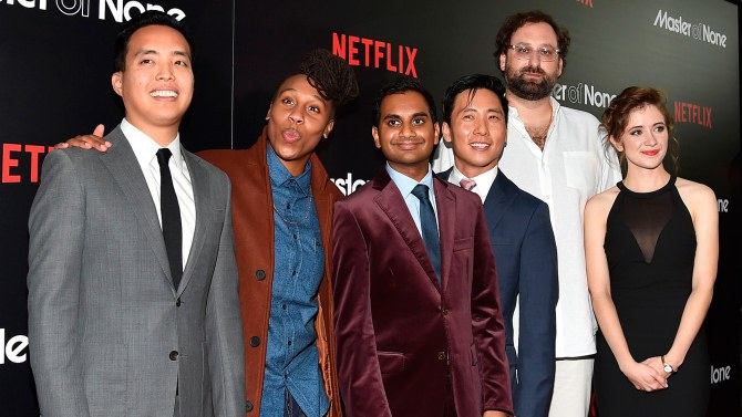 this hip and modern comedy starring aziz ansari will have you in stitches and pondering life. Black Bedroom Furniture Sets. Home Design Ideas