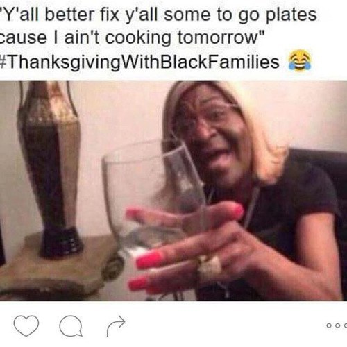980x holidays with black families,Thanksgiving With Hispanic Families Memes