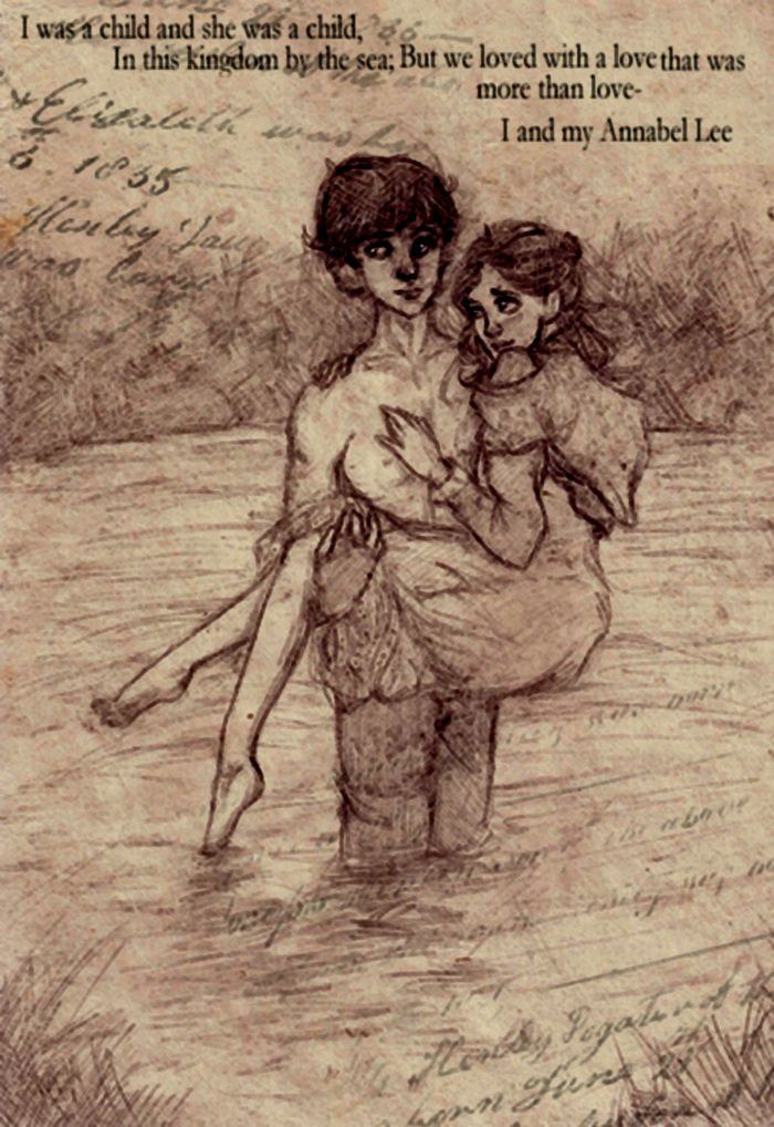 annabel lee and romanticism Annabel lee: the last of poe's genius edgar allan poe died on october 7, 1849 in baltimore, maryland annabel lee uses repetition, ballad form and even his insanity to emphasize his love for his dead companion repetition or haunting rhythm (bily) played a large role in annabel lee.