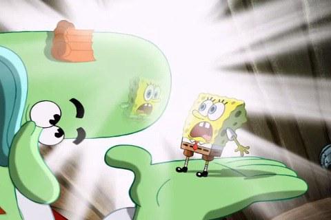 Spongebob Screaming Chocolate Guy