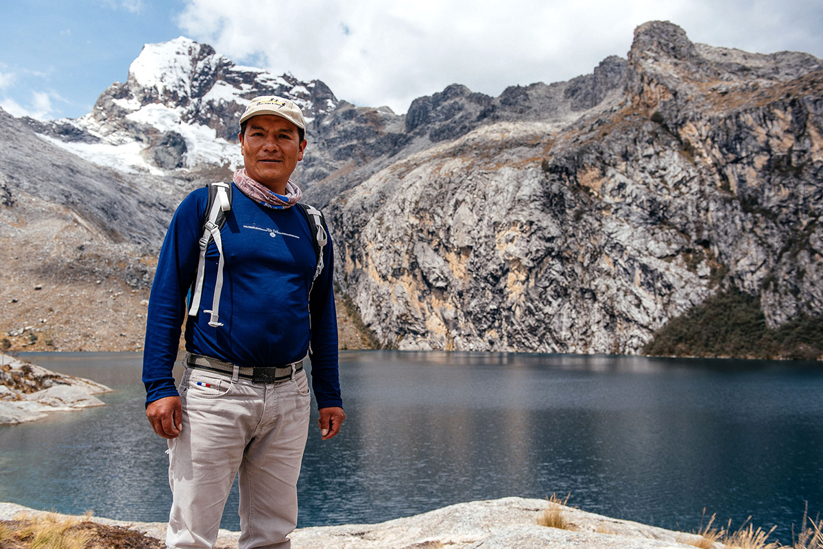 photo image Peruvian Farmer Takes German Energy Giant to Court