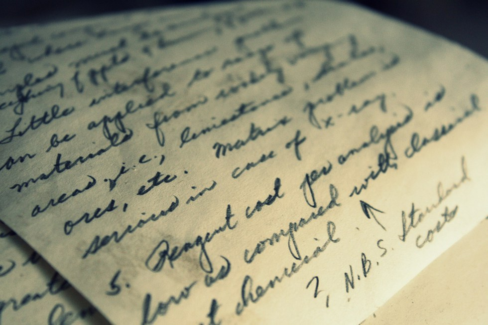 Letter writing services lost art