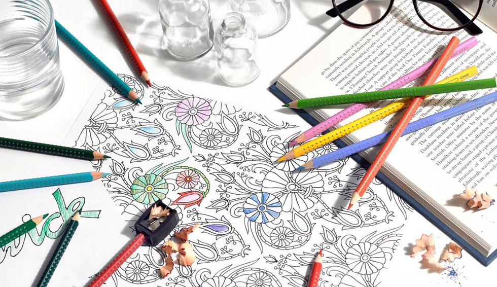 Secret Garden Has Sold A Grand Total Of Around Two Million Copies Worldwide By August 2015 What Makes These Coloring Books